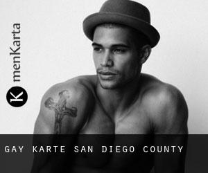 Gay Karte San Diego County